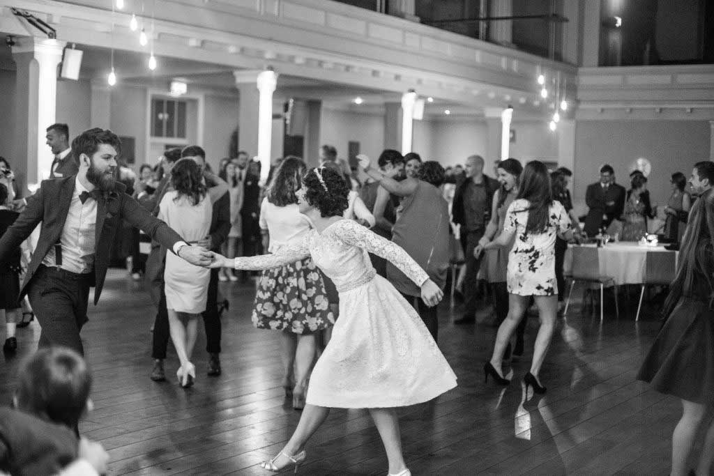 Couple Dancing at Wedding - St Mary's Venue Hire, London